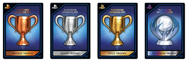 PlayStation Experience: Trophy Cards