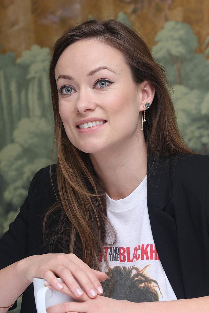 Оливия Уайлд — Пресс-конференция «Винил» 2015 – 30