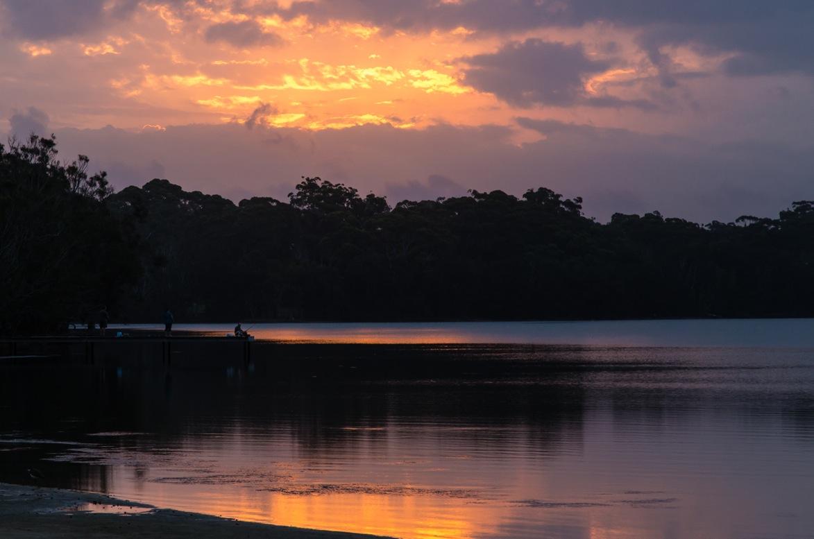 Camping i Australien