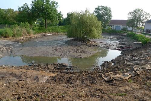 2010 - Úprava rybníku Pokorňák