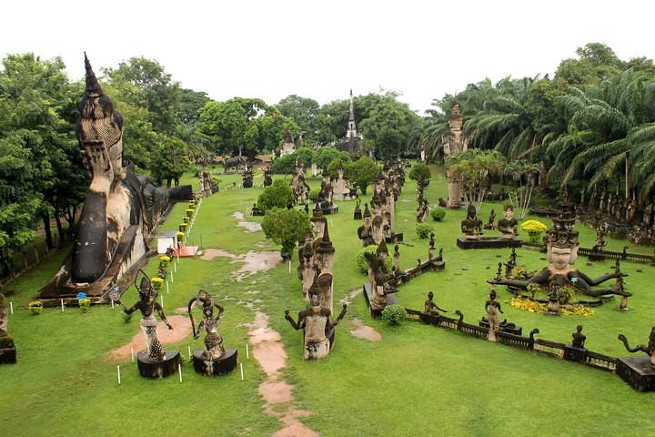 Buda Park de Vientiane