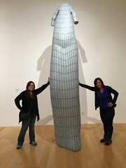 Pam and Jules at Palm Springs Museum