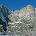 Upper & Lower Yosemite Falls in Winter 2761 by Emory Minnick
