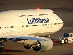 Lufthansa Boeing 747-8I D-ABYF HND/RJTT