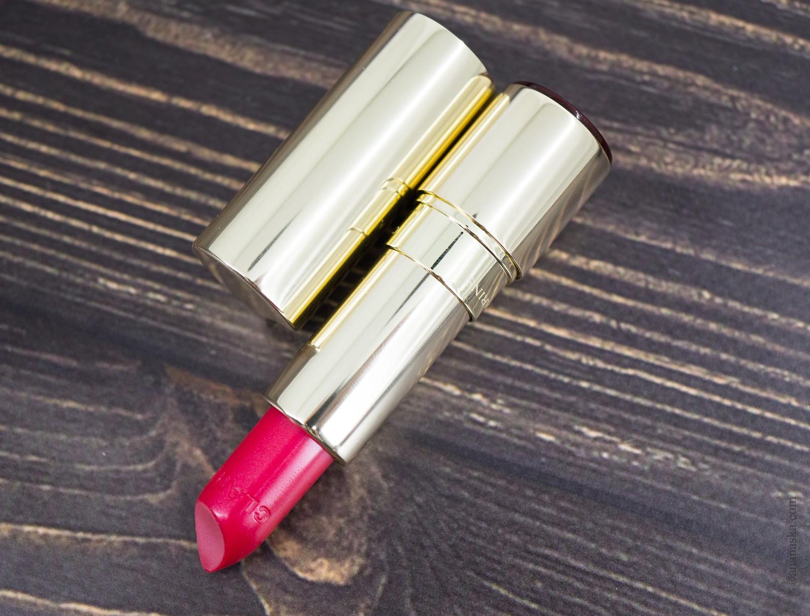 Clarins Joli Rouge Brillant 32 pink cranberry