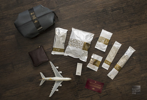 Etihad Airways First Class Amenity Kits by Christian Lacroix