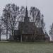 Høyjord stave church by AstridWestvang