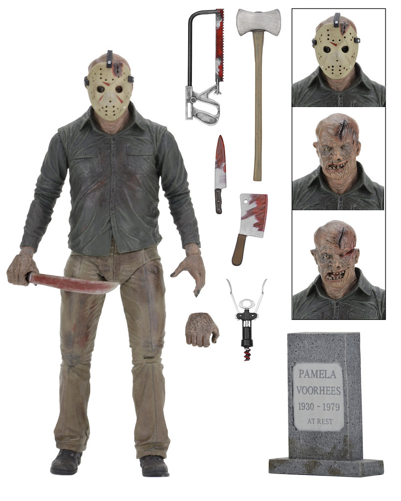 NECA【十三號星期五4:終極殺人魔傑森】Friday The 13th: The Final Chapter Jason Voorhees 7 吋人偶作品