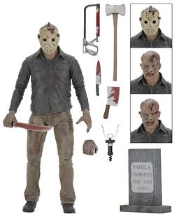 NECA【十三號星期五4:終極殺人魔傑森】Friday The 13th: The Final Chapter Jason Voorhees 7 吋人偶作品