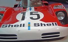 'Up Close' Ferrari 512S Classic Le Mans Sports / Racing Car Ferrari Museum Maranello.