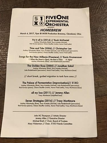 FiveOne Experimental Orchestra (3/4/16)