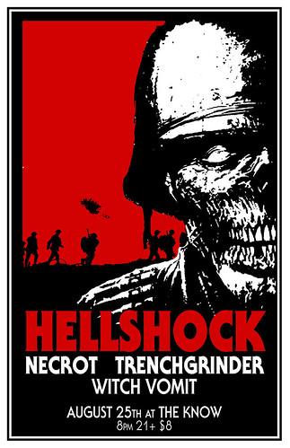 8/25/15 Hellschock/Necrot/Trenchgrinder/WitchVomit