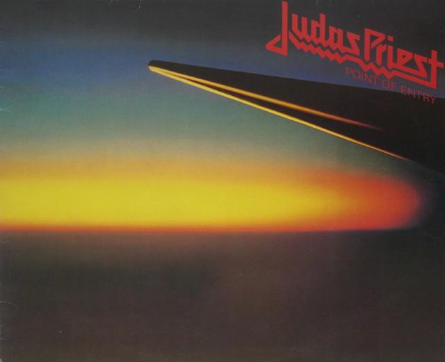 "JUDAS PRIEST Point Of Entry 12"" Vinyl LP"