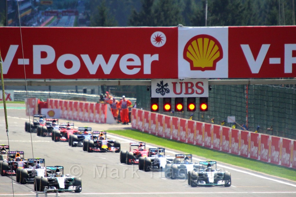 About to start the 2015 Belgium Grand Prix
