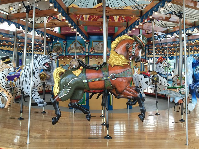 Smale Park Carousel Horse