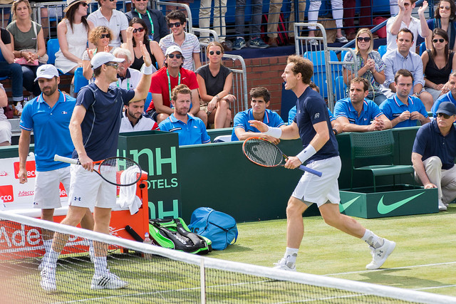 Arnaud Clément, Jamie and Andy Murray