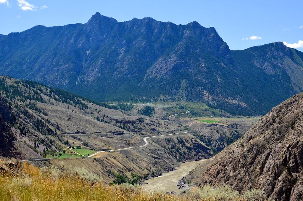 Fraser Canyon Landscape