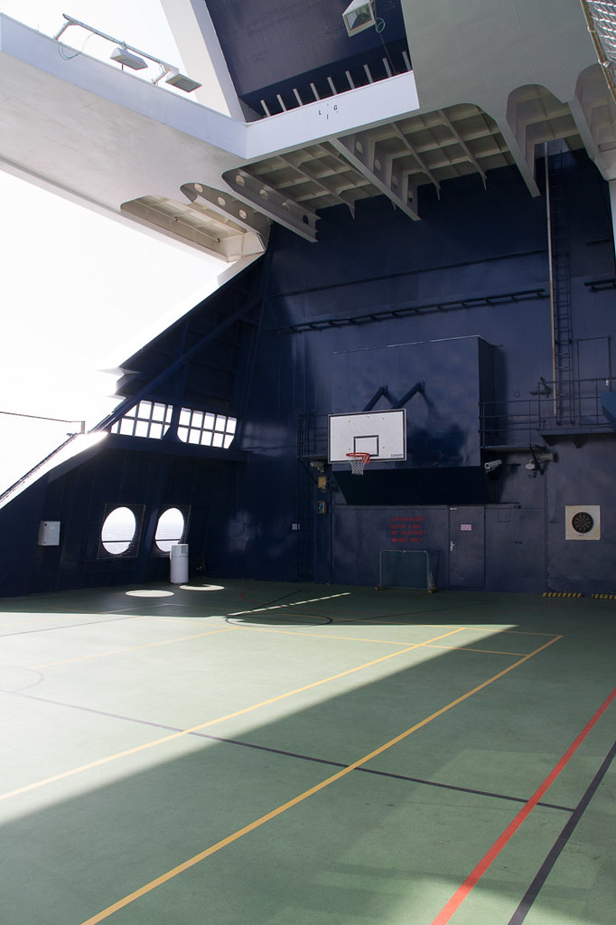 Basketball court on Celebrity Constellation