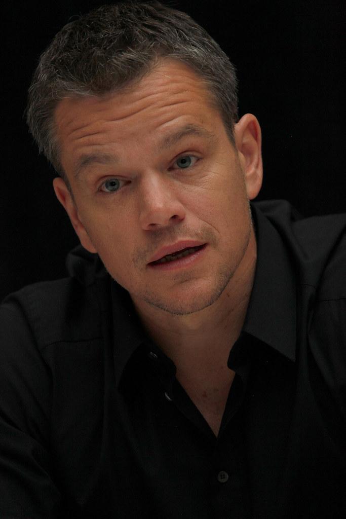 Мэтт Деймон — Пресс-конференция «Марсианин» на «TIFF» 2015 – 8