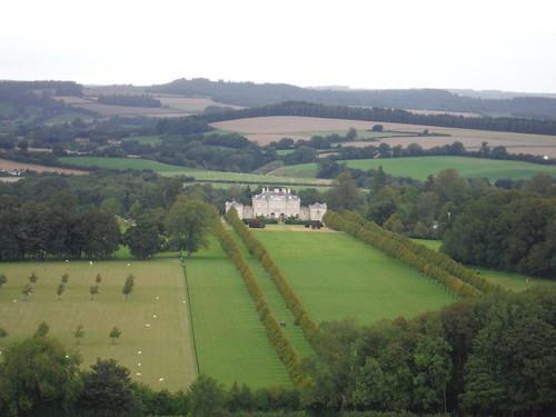 Ferne House from the Ox Drove