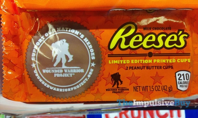 Reese's Wounded Warrior Project Limited Edition Printed Cups