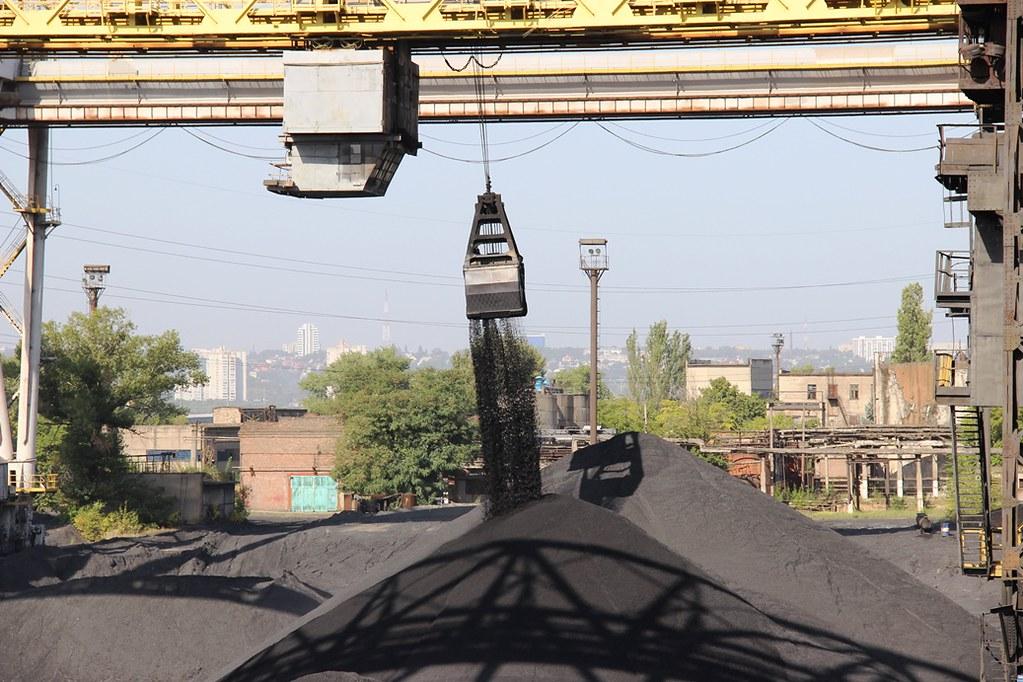 Возбновлены поставки угля на ДТЭК Приднепровской ТЭС_1