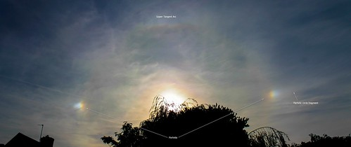Parhelia (Sundogs) & Upper Tangent Arc 4:20pm 29/09/15