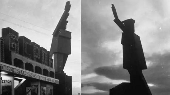 马格尼托哥尔斯克的机器人列宁像