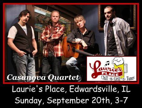Casanova Quartet 9-20-15