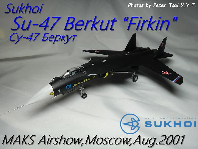 """1/72 Su-47 Berkut """"Firkin"""""""
