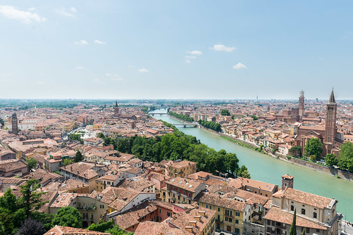 A view of Verona