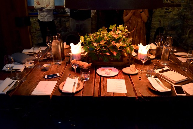 Table Setting at Timberyard, Edinburgh