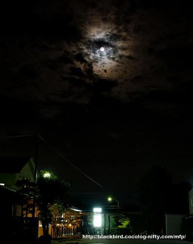 Cloudy Moon #02