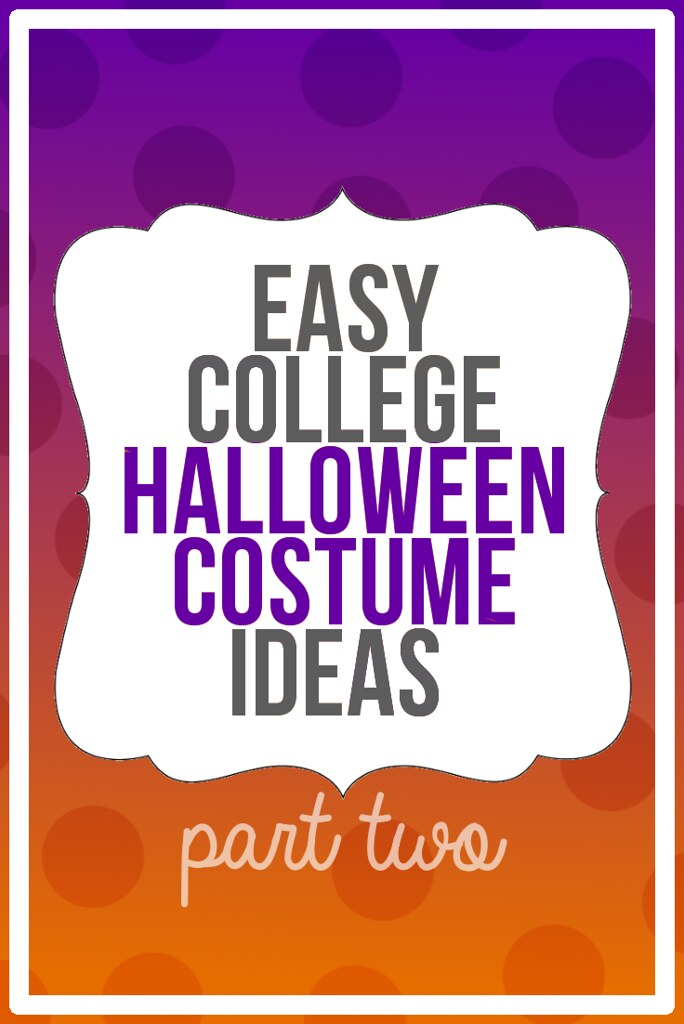 Easy College Halloween Costumes: Easy College Group Costum ...