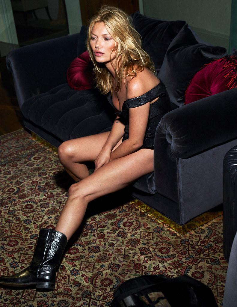 Кейт Мосс — Фотосессия для «Vogue» FR 2015 – 9
