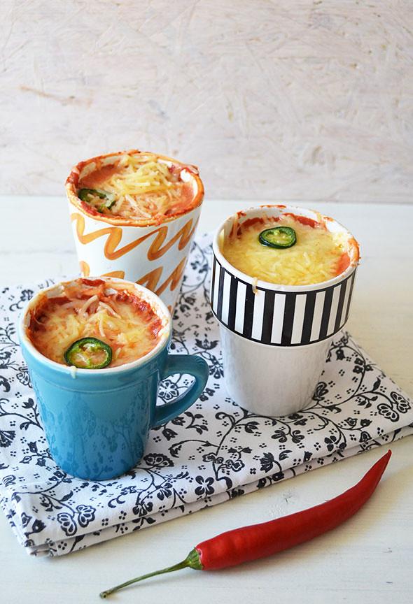 5 minute mug lasagna