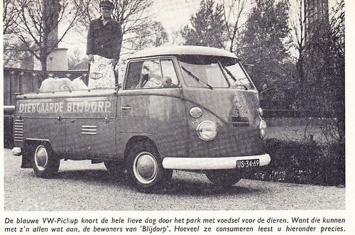 US-34-69 Volkswagen Transporter enkelcabine 1964