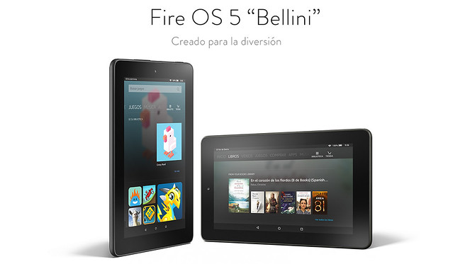 tablet fire para chicos