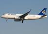 """P4-KBC Air Astana Airbus A320-232 """"Gaziza"""" by Osdu"""
