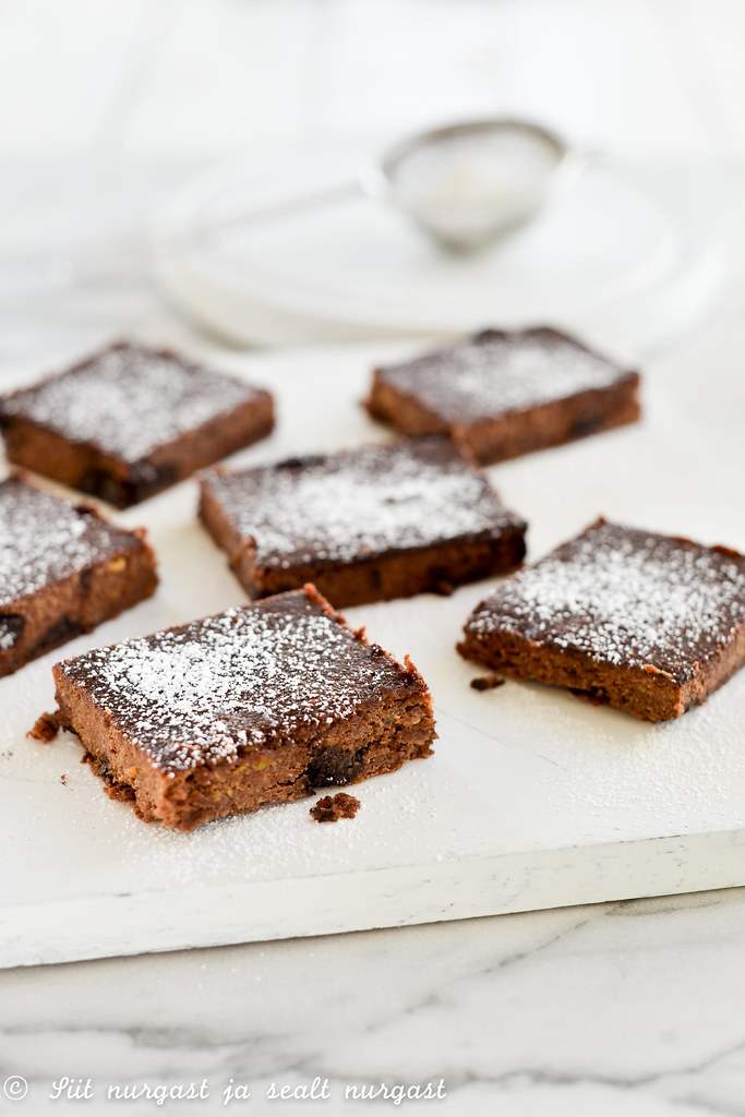 plantain brownie