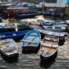 Fishing boats at Mui We village on Hong Kong's Lantau island. #hongkong #hongkong #travel