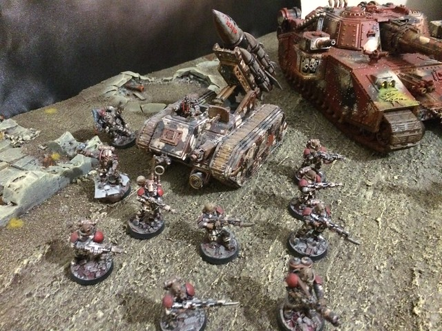 Renegade Guard on the winning Talented Lad Studios display board