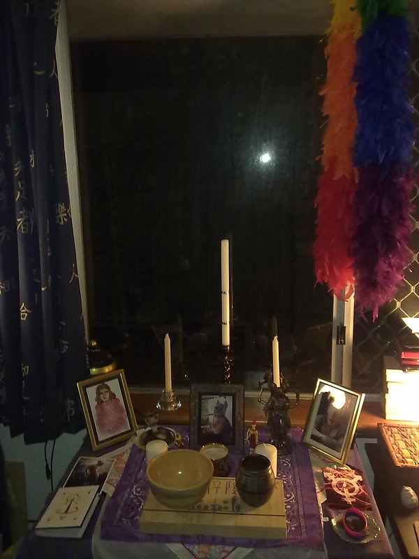 Trans Rite of Elevation shrine