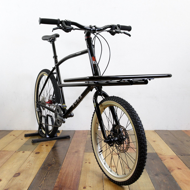 SOMA FABRICATIONS TRADESMAN CARGO BIKE / DIRT TRUCK BIKE CUSTOM