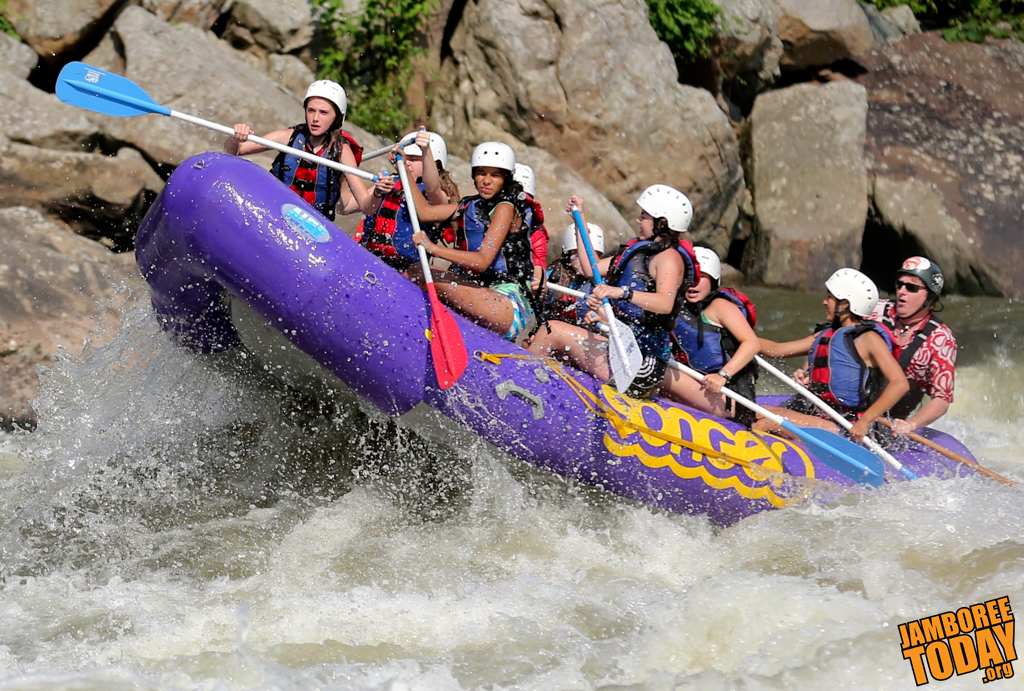 Whitewater Rafting Wet and Wild