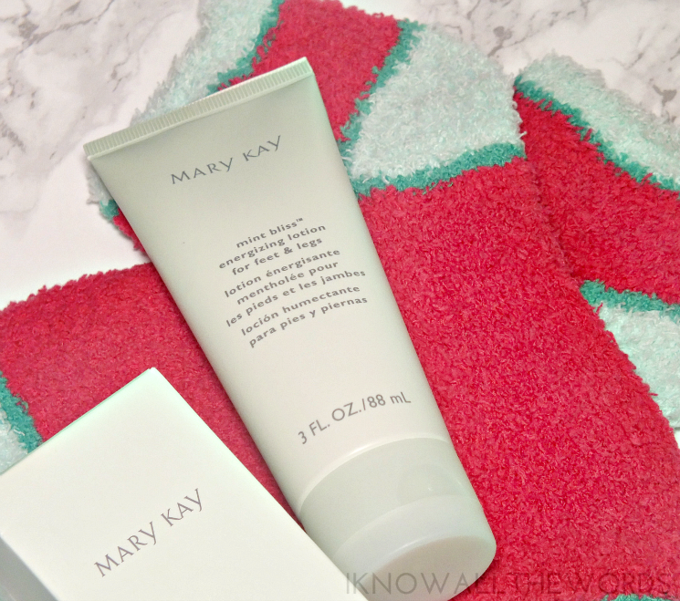 Mary Kay Holiday 2015 Mint Bliss™ Energizing Lotion for Feet & Legs