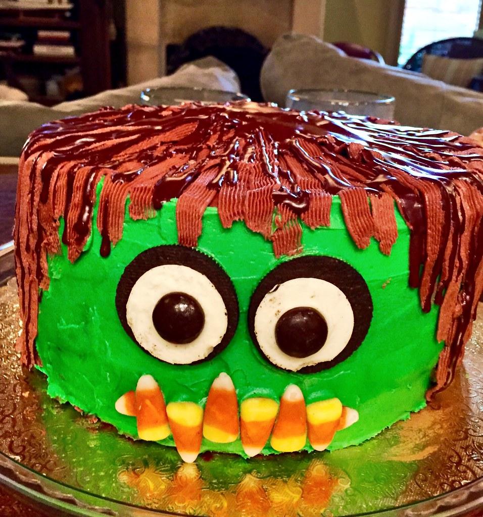 Abram's Little Monster Cake