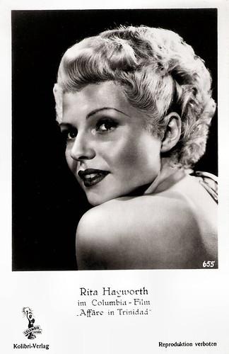 Rita Hayworth in Affair in Trinidad (1952)