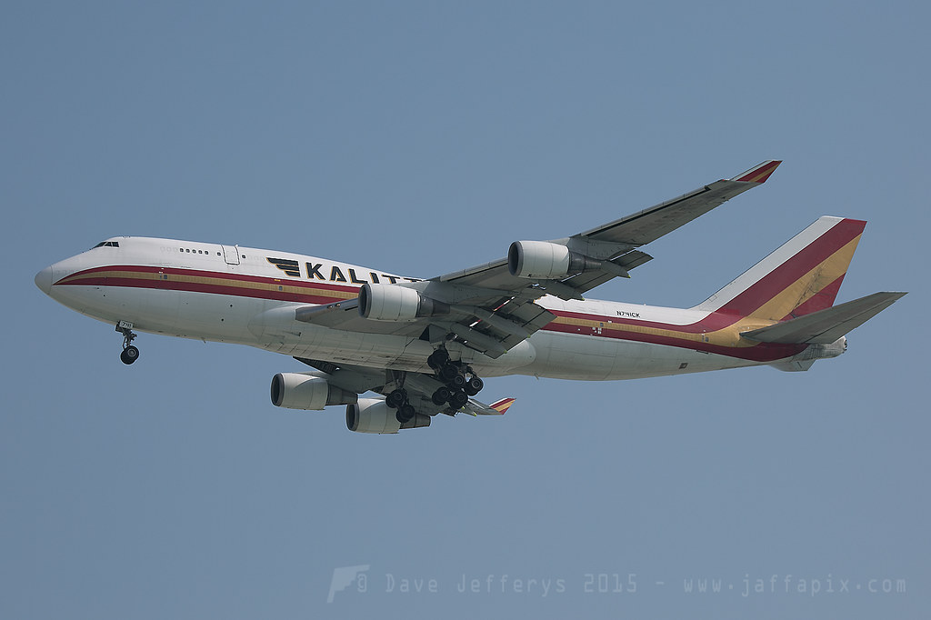 N741CK - B744 - Kalitta Air