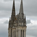 Towers of the Cathédral Saint-Maurice, Angers by Monceau
